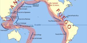 Cinturón de Fuego del Pacífico: qué es y mapa