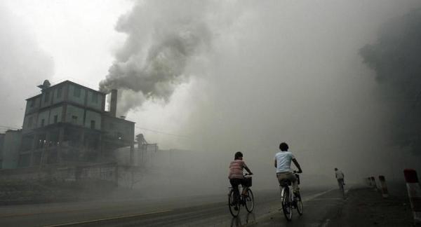 Contaminación en China: estado de alerta roja