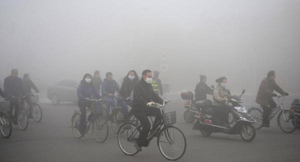 Contaminación en China: estado de alerta roja - Creciente contaminación en China