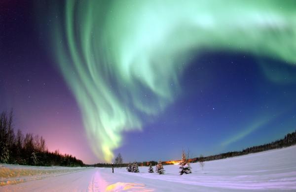 Dónde se ve la aurora boreal - Cómo se forma una aurora boreal