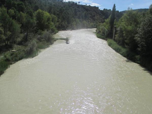 Ríos más contaminados de España - Río Gállego