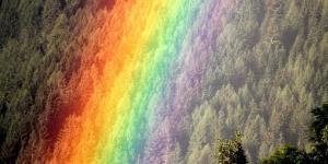 Cómo se forma el arcoíris