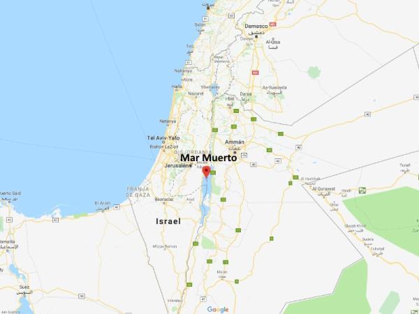 Por qué se llama Mar Muerto y dónde está ubicado - Ubicación y formación del Mar Muerto