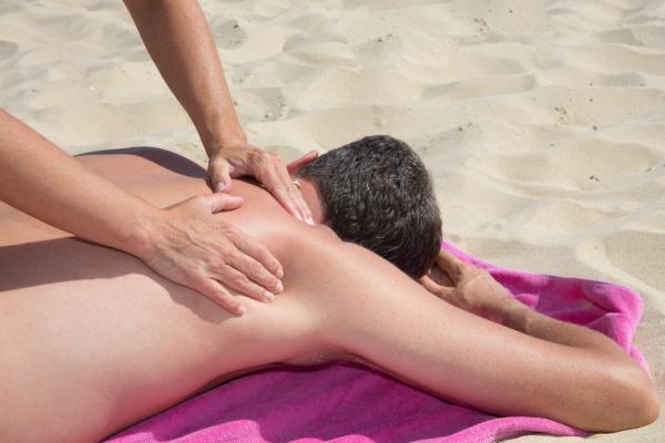Actividades ecológicas al aire libre - Hacerse masajes al aire libre