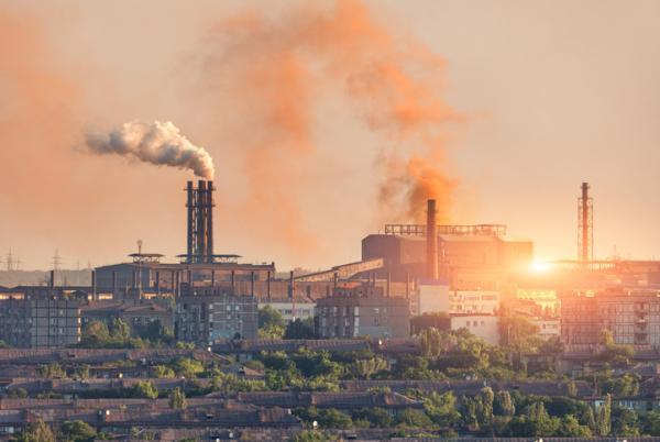 Tipos de contaminación del aire - Industrias, las principales causantes de la contaminación atmosférica