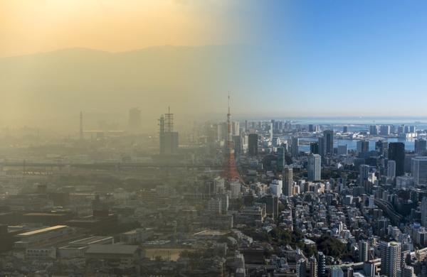 Tipos de contaminación del aire