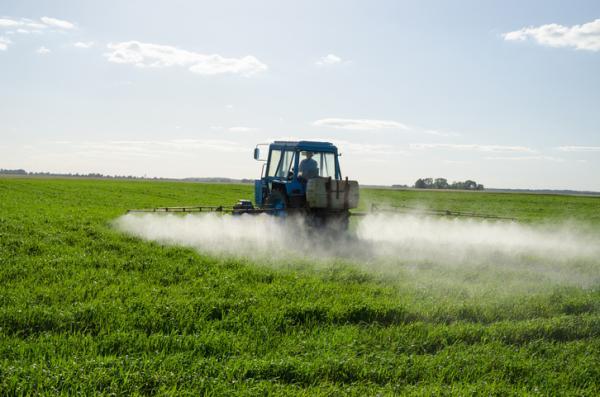 Cómo se contamina el agua - Fertilizantes y pesticidas de la agricultura y ganadería industrial