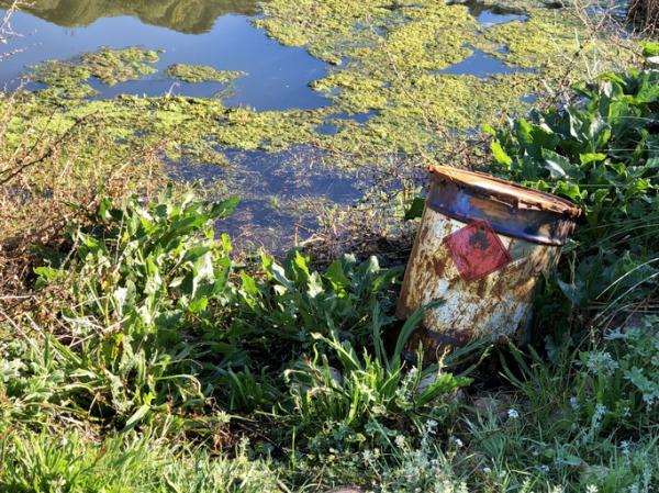 Cómo se contamina el agua - Vertidos tóxicos procedentes de actividades domésticas e industriales