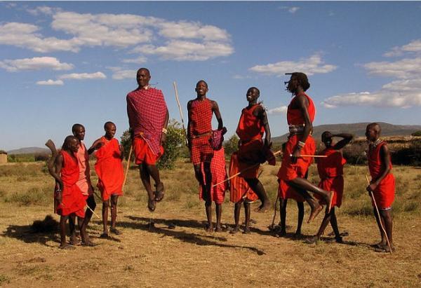 16 tribus africanas: nombres, significados y costumbres - Masai, una de las tribus africanas más conocidas