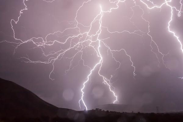 Qué es una tormenta eléctrica dispersa - Qué es una tormenta eléctrica