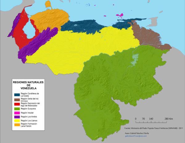 Regiones naturales: qué son, cuáles son y sus características - Qué son las regiones naturales continentales - resumen