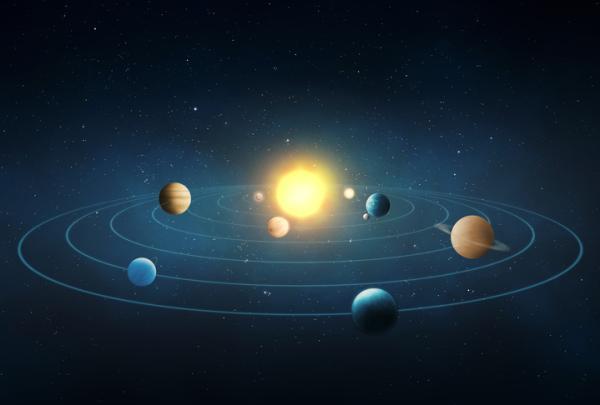 Por qué la Tierra gira alrededor del Sol - Por qué giran los planetas alrededor del Sol