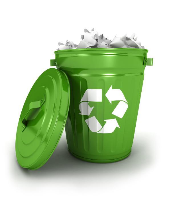 Dónde reciclar esos residuos que no sabemos dónde van - Contenedor de rechazo: verde o gris