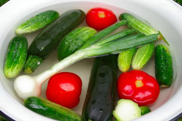 Cómo desinfectar frutas y verduras de forma ecológica - Por qué lavar y desinfectar las frutas y verduras