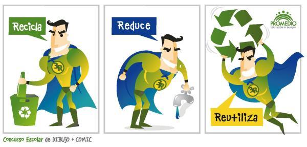 Las 3R: Reducir, Reutilizar y Reciclar - Ejemplos de reciclar