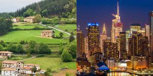 Características del ecosistema rural y urbano