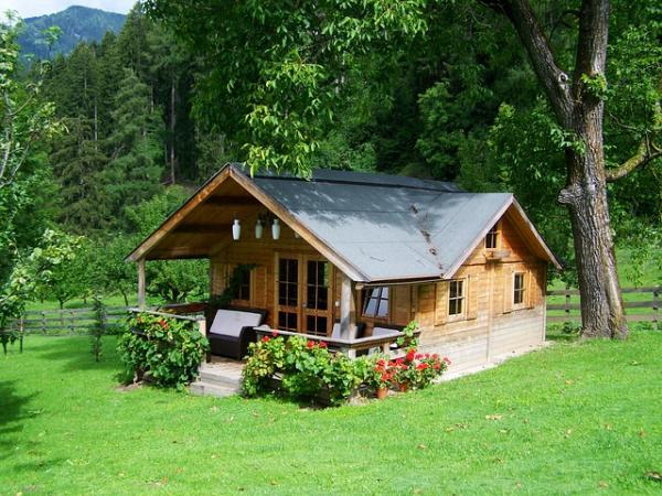 Casas naturales de madera, barro, paja o bambú - Ventajas de construir casas naturales de madera