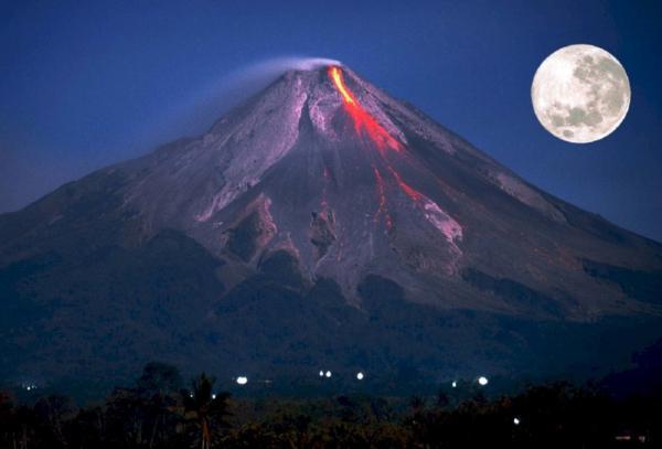 Partes de un volcán - Cono volcánico