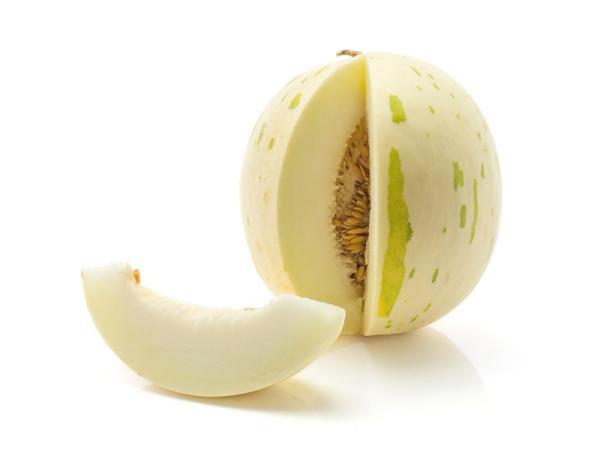 8 tipos de melones - Branco o melón blanco