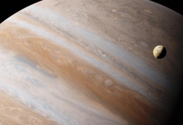 Cuántas lunas tiene Júpiter - Ío