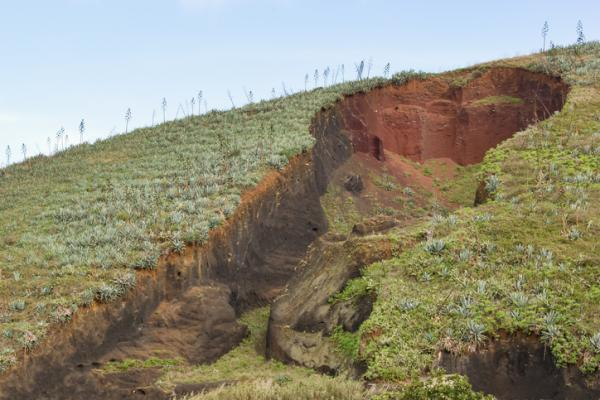 Problemas ambientales en Guatemala - Erosión del suelo