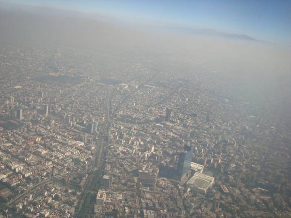 Principales problemas ambientales en México - Contaminación del aire