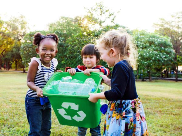 Importancia del reciclaje para niños - Reducir el consumo de materias primas de primer uso