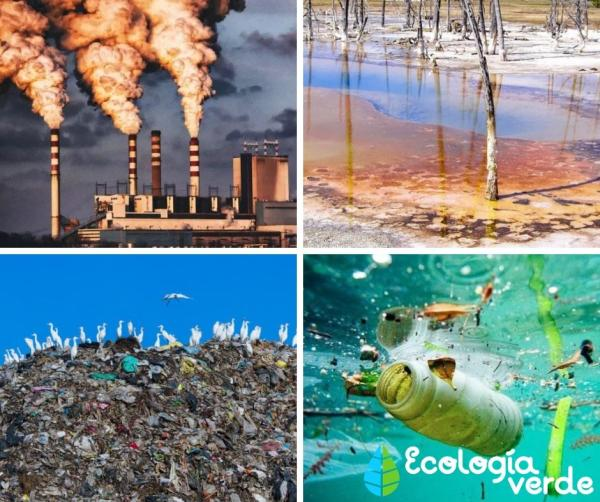 Tipos de contaminantes ambientales