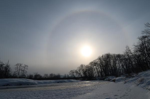 Qué es un halo solar y por qué se produce - Qué es un halo solar