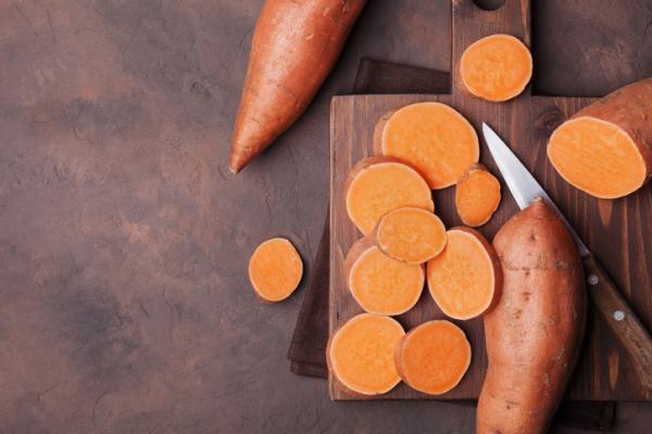 Tubérculos: qué son y ejemplos - Boniato o batata