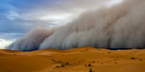 Cómo se forma una tormenta de arena y cuánto dura