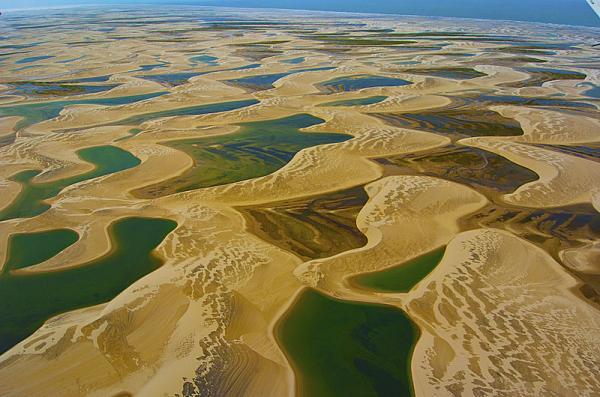 15 curiosidades de la naturaleza que te sorprenderán - El desierto que se inunda en Brasil