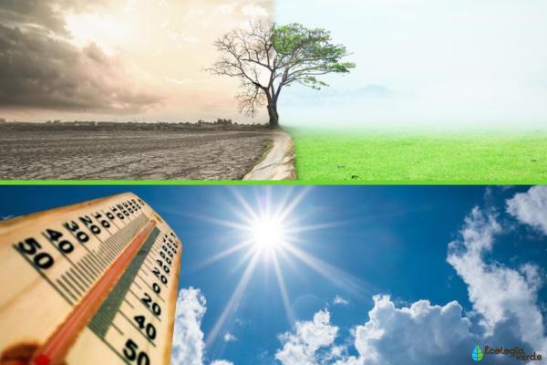 Diferencia entre cambio climático y calentamiento global