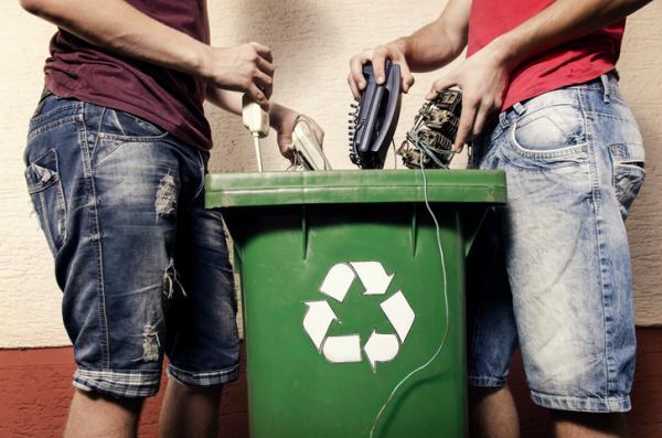 Qué hacer con la basura tecnológica