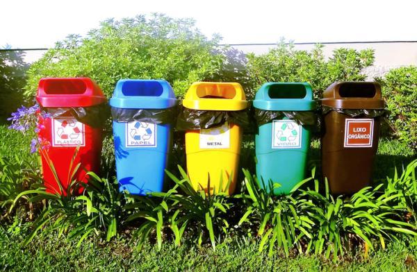 Tipos de reciclaje - Tipos de contenedores de reciclaje