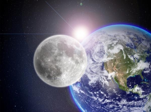Por qué la luna brilla si no tiene luz propia - Por qué brilla la luna