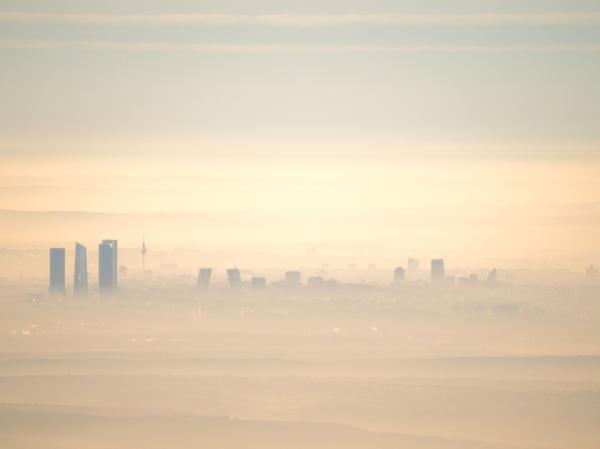 Principales problemas medioambientales en España - Contaminación atmosférica en España