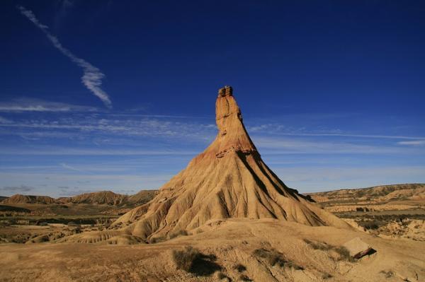 Los 10 paisajes más bonitos de España - Las Bárdenas Reales