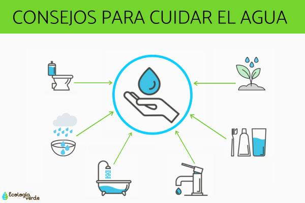 Cómo podemos cuidar el agua