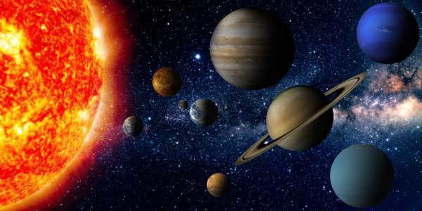 Cuál es el planeta más pequeño y el más grande del Sistema Solar - Qué es un Sistema Solar