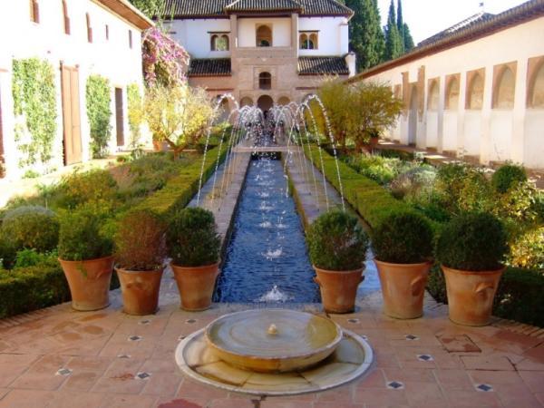 11 tipos de jardines - Jardín árabe