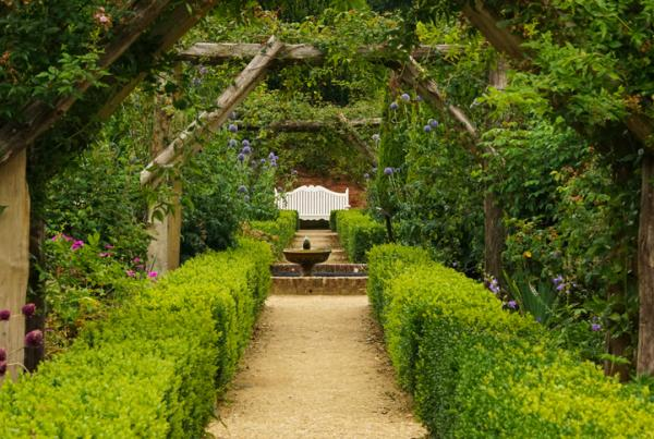 11 tipos de jardines - Jardín inglés