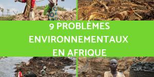 Problèmes environnementaux en Afrique