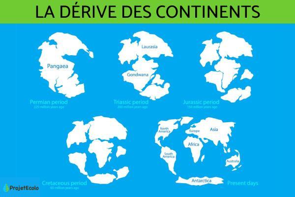 La formation des continents - Tout savoir sur l'évolution des continents