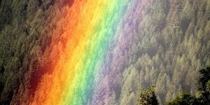 Comment se forme un arc-en-ciel