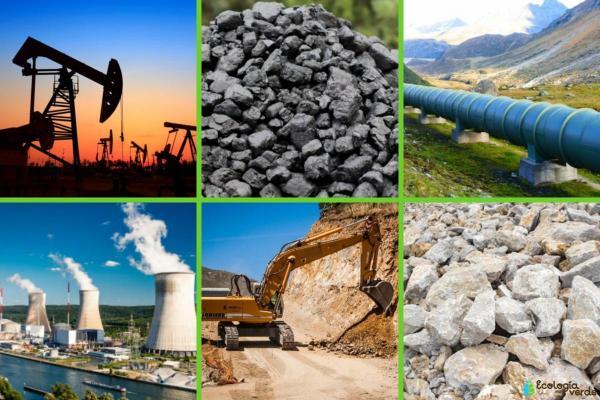 Ressources non renouvelables : Définition et exemples - Exemples de ressources non renouvelables